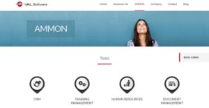 Logo of Ammon