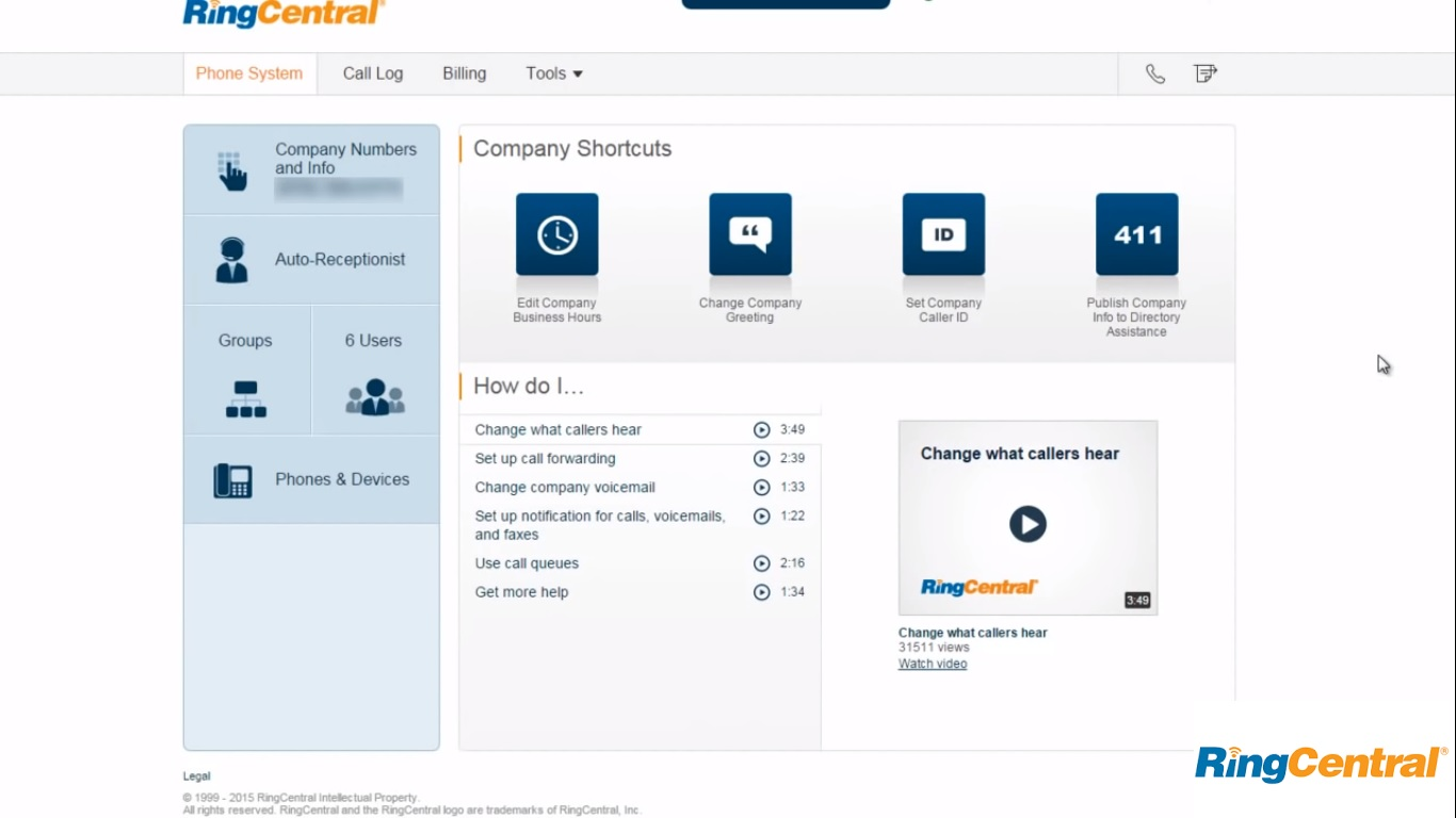 Ringcentral Combines All The Features You Need In A Cloud Business Phone System Award Winning Platform Has Pbx Multi Level Ivr Audio And Video