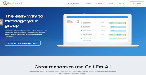 Call-Em-All Reviews: Overview, Pricing and Features