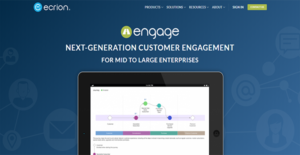 Logo of Ecrion Engage