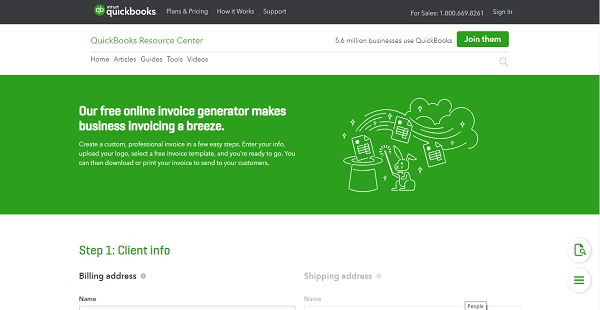 QuickBooks Invoice Generator Reviews: Overview, Pricing and