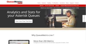 Logo of QueueMetrics-Live