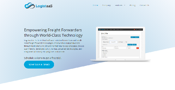 LogistaaS Reviews: Overview, Pricing and Features