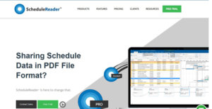 Logo of ScheduleReader