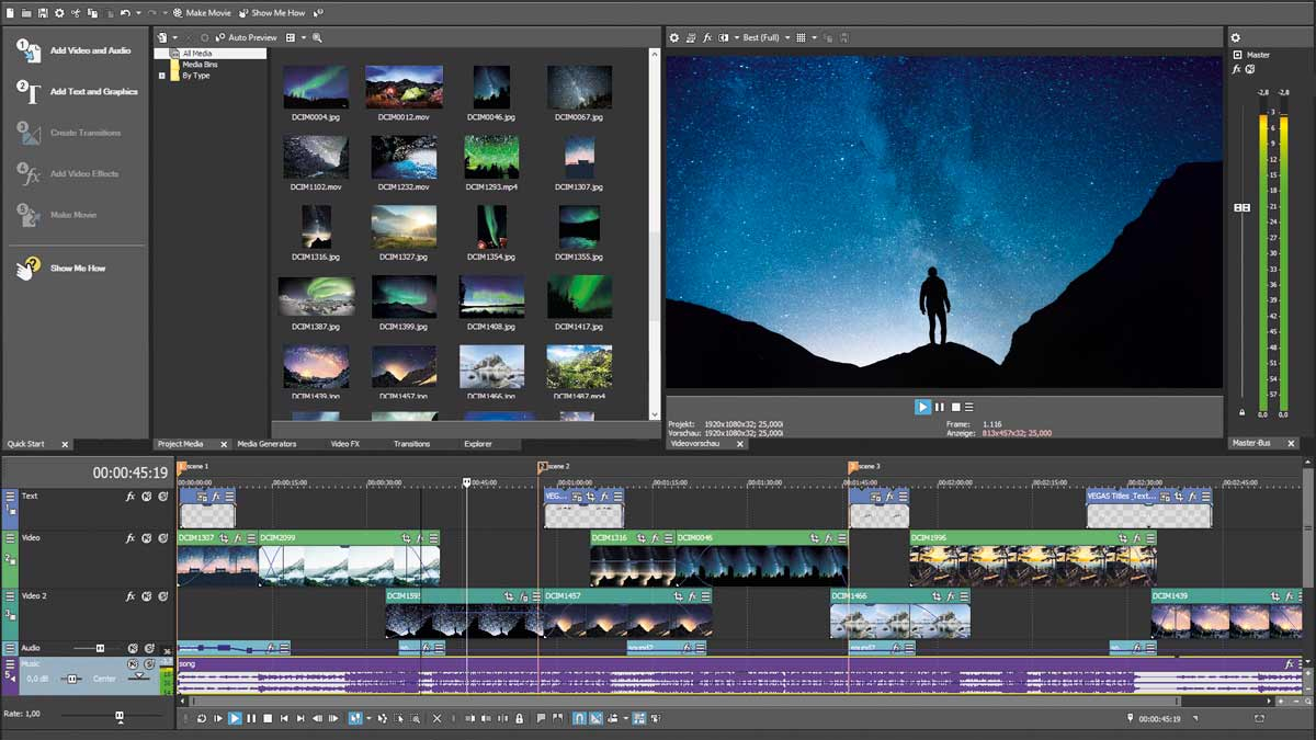 video edit software for pc