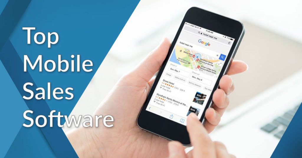 mobile sales software