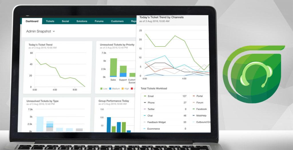 freshdesk dashboard example