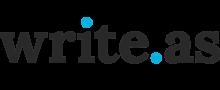 Logo of Write.as
