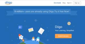 Logo of Diigo