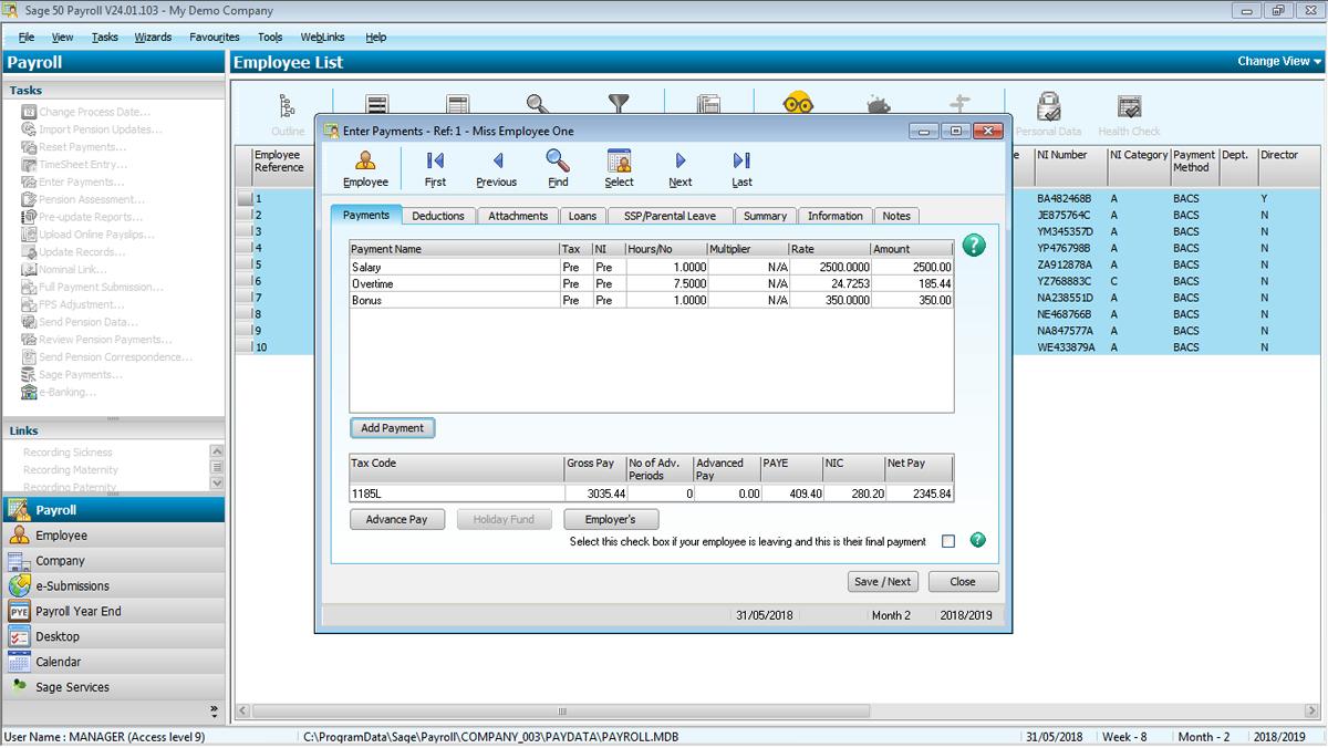 hi scan pro application software card