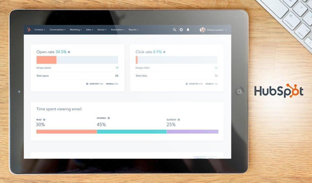 hubspot marketing dashboard example