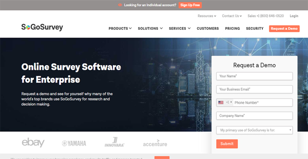 SoGoSurvey Reviews: Overview, Pricing and Features