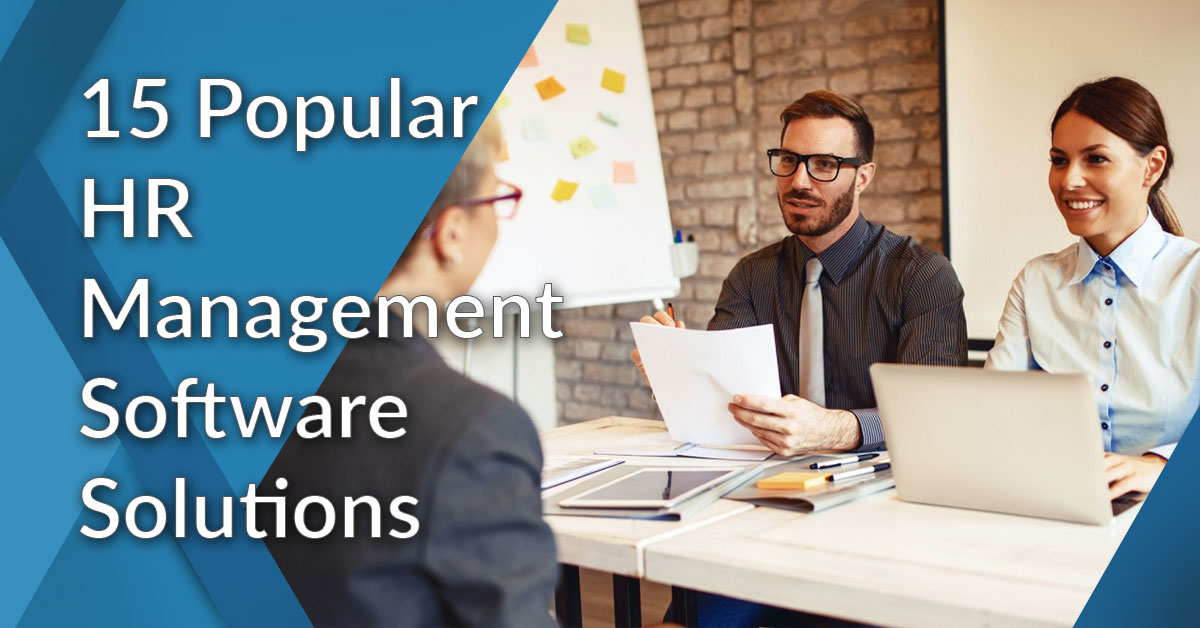 15 Popular HR Management Software Solutions: Which One Is