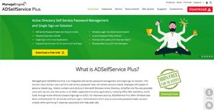 Logo of ManageEngine ADSelfService Plus