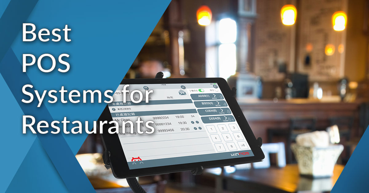 20 Best POS Systems for Restaurants: Comparison of 2019 Solutions