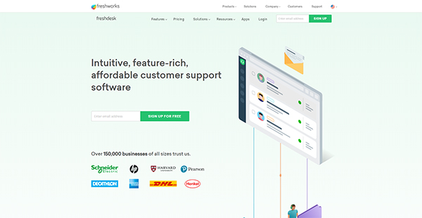 Freshdesk Reviews: Pricing, Overview & Features of freshdesk com |  FinancesOnline