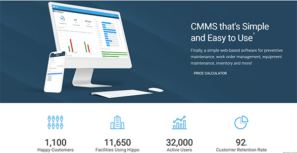 Hippo CMMS Reviews: Overview, Pricing and Features