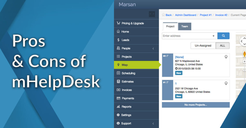 pros and cons of mhelpdesk
