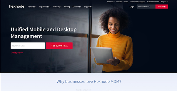 Hexnode Reviews: Overview, Pricing and Features