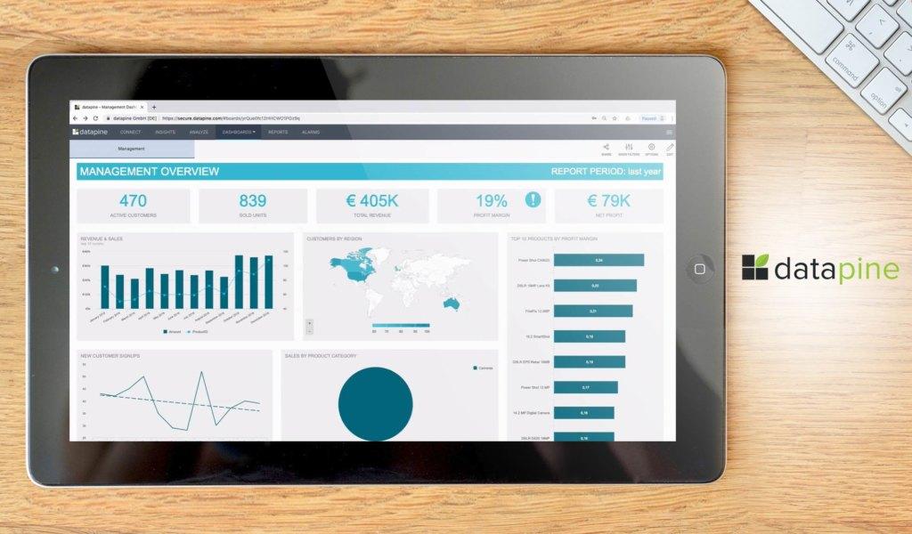 datapine dashboard