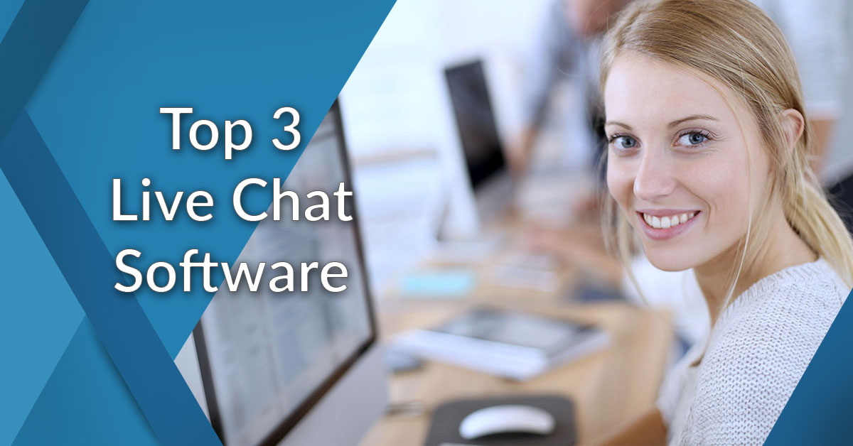 top 3 live chat software