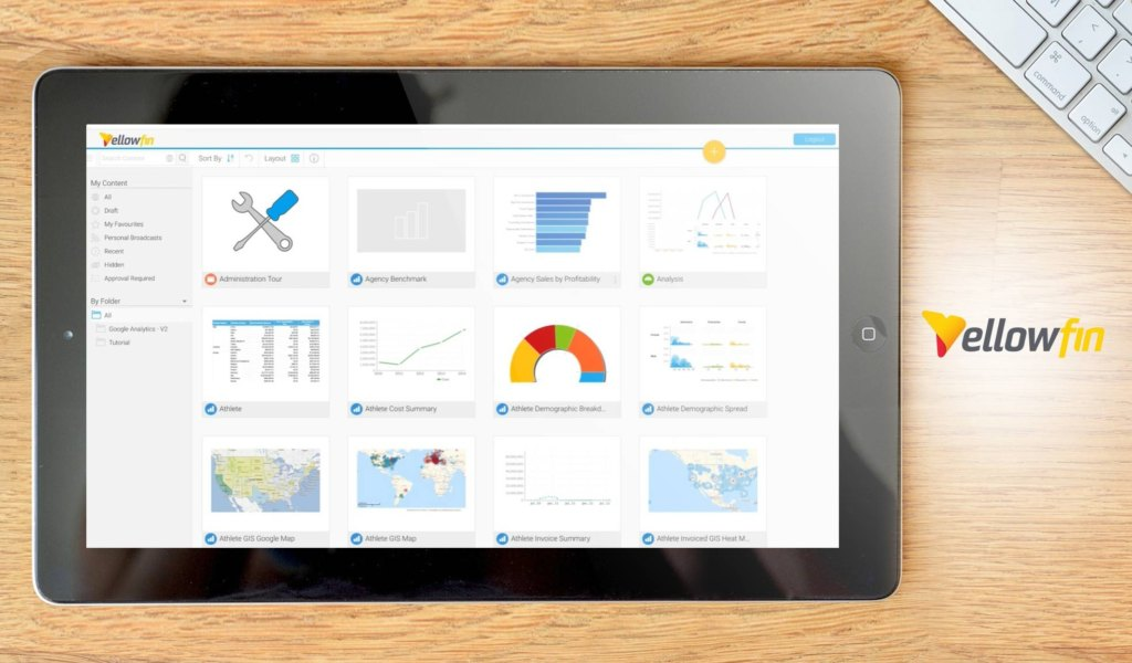 yellowfin dashboard alternativa Power BI