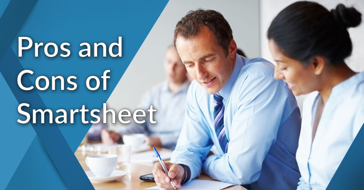 pros and cons of smartsheet