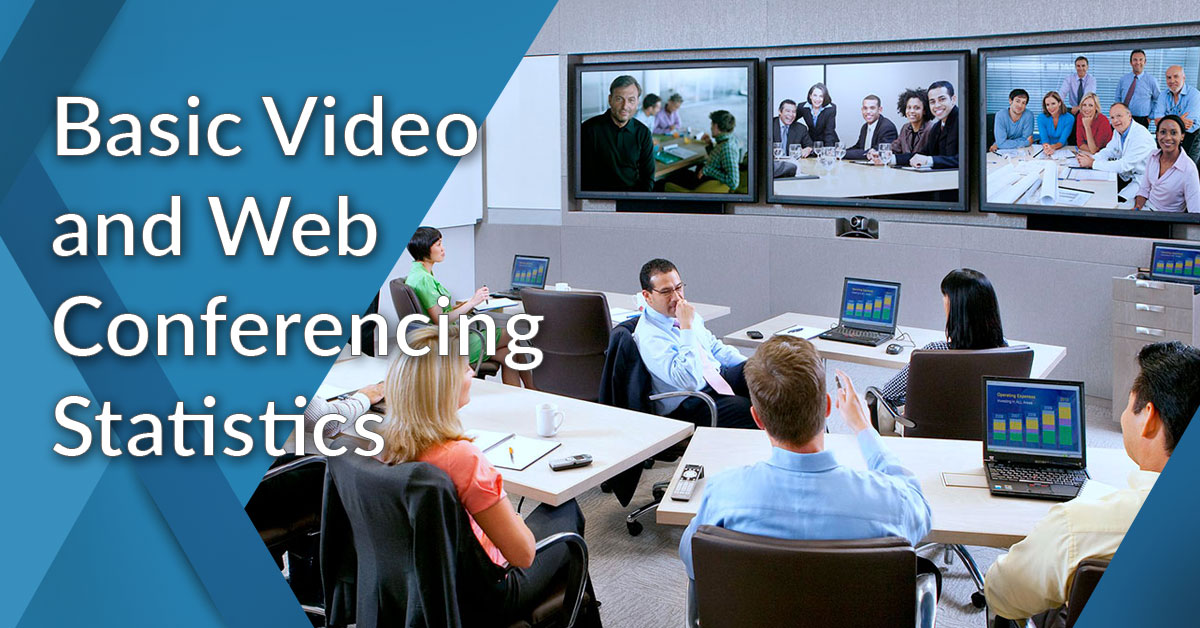 web and video conferencing statistics-main
