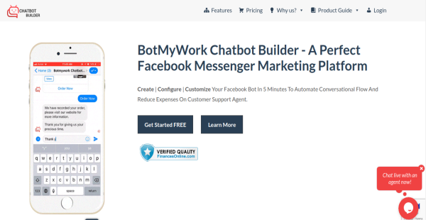 Botmywork Chatbot Builder Reviews: Overview, Pricing and Features