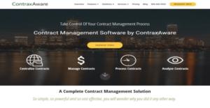 Logo of ContraxAware