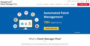 Logo of ManageEngine Patch Manager Plus