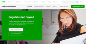 Logo of Sage 50cloud Payroll