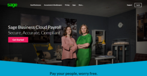 Logo of Sage Business Cloud Payroll