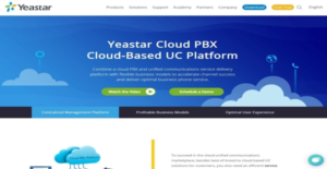 Logo of Yeastar Cloud PBX