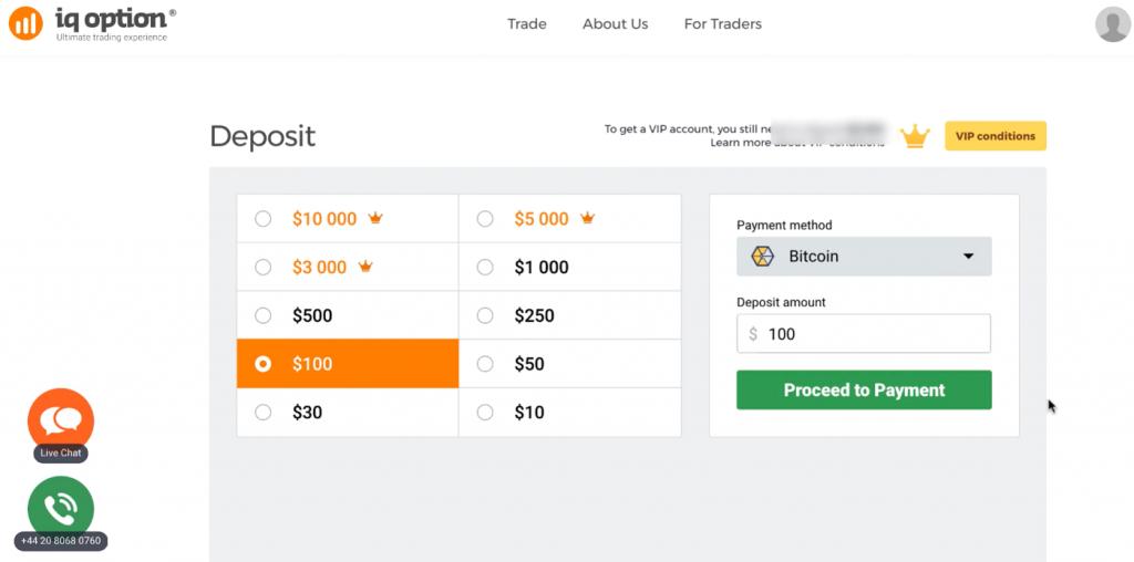 iqoption bitcoin depozit btc profitul erfahrungen