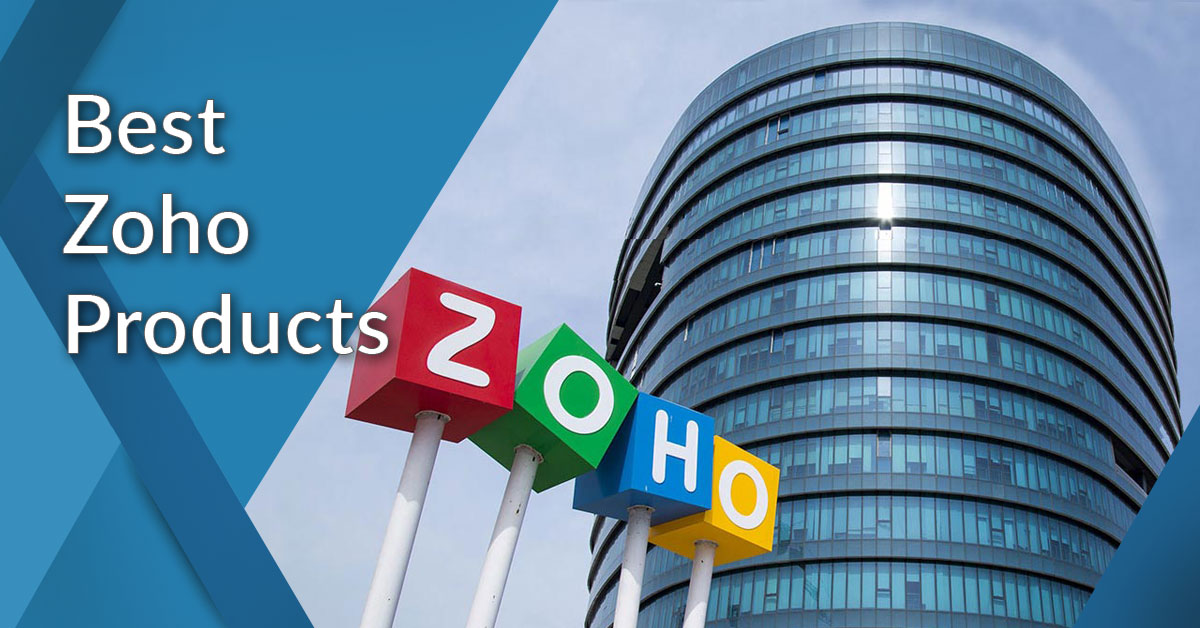 12 Best Zoho Products Reviews Of The Most Popular Services Financesonline Com