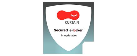 Curtain e-locker