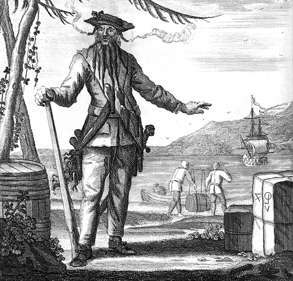 Top 10 Richest Pirates In History: Blackbeard, Drake