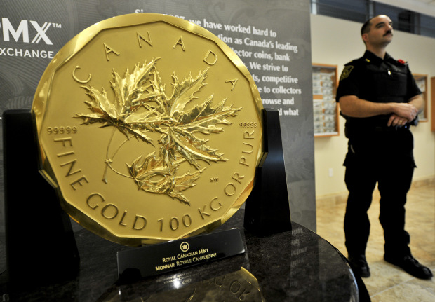 expensive a gold to golden gadgets watch elizabeth from most giant coin canadian items