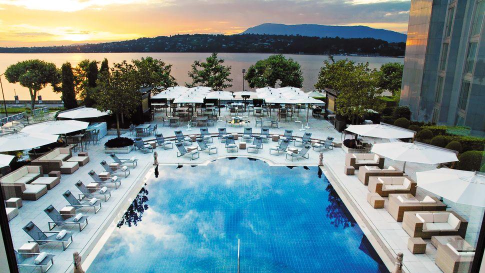 President Wilson Hotel Geneva Switzerland