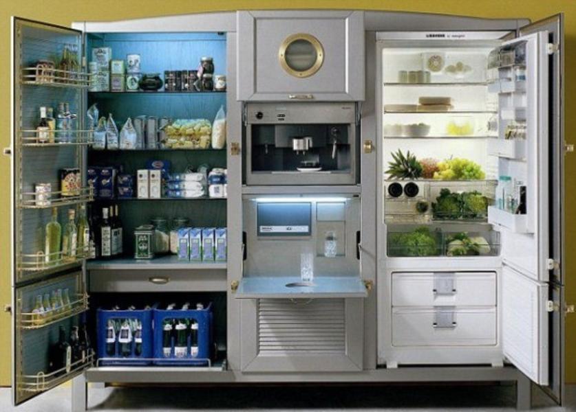 2 Meneghini Arredamenti Refrigerator 41000 Ref